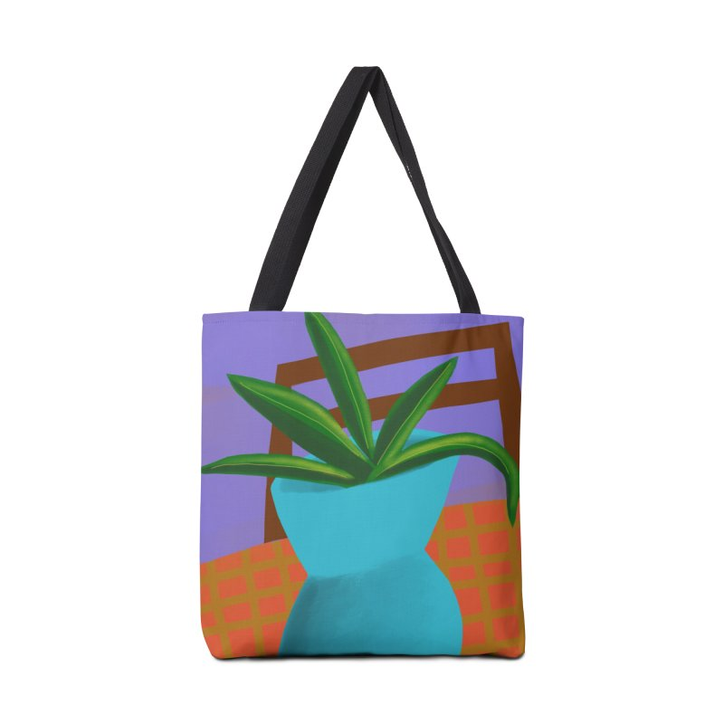 Blue Vase Accessories Bag by Michael Pfleghaar