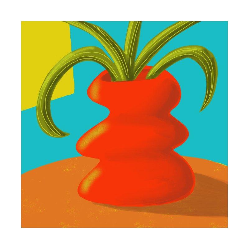 Red Vase by Michael Pfleghaar