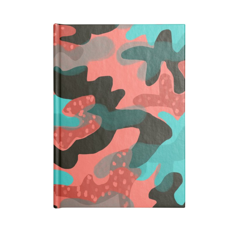 Coral Camouflage 1 Accessories Notebook by Michael Pfleghaar