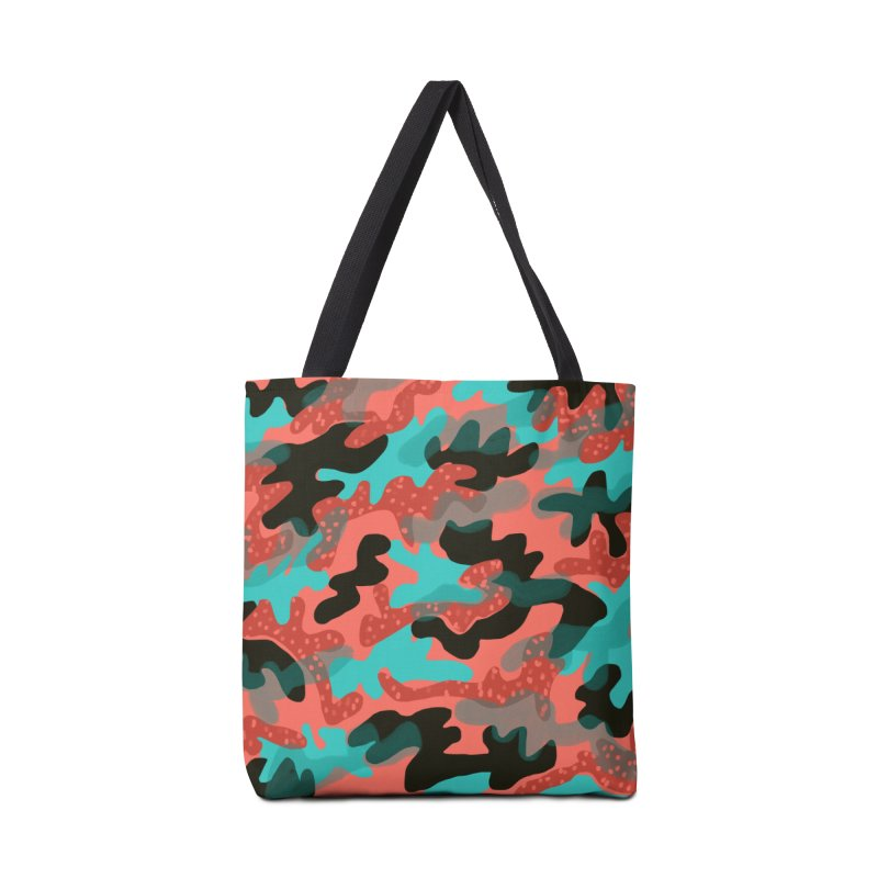 Coral Camouflage 1 in Tote Bag by Michael Pfleghaar
