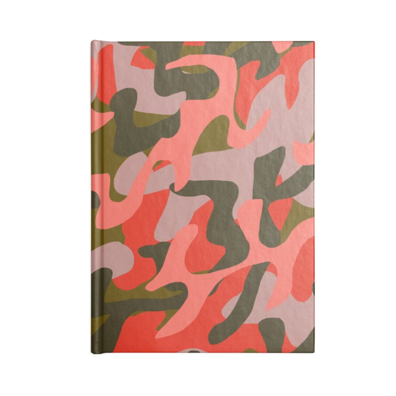 Coral Camouflage 2 Accessories Notebook by Michael Pfleghaar