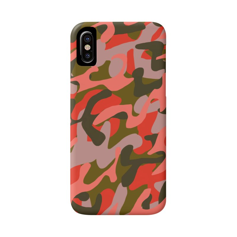 Coral Camouflage 2 Accessories Phone Case by Michael Pfleghaar