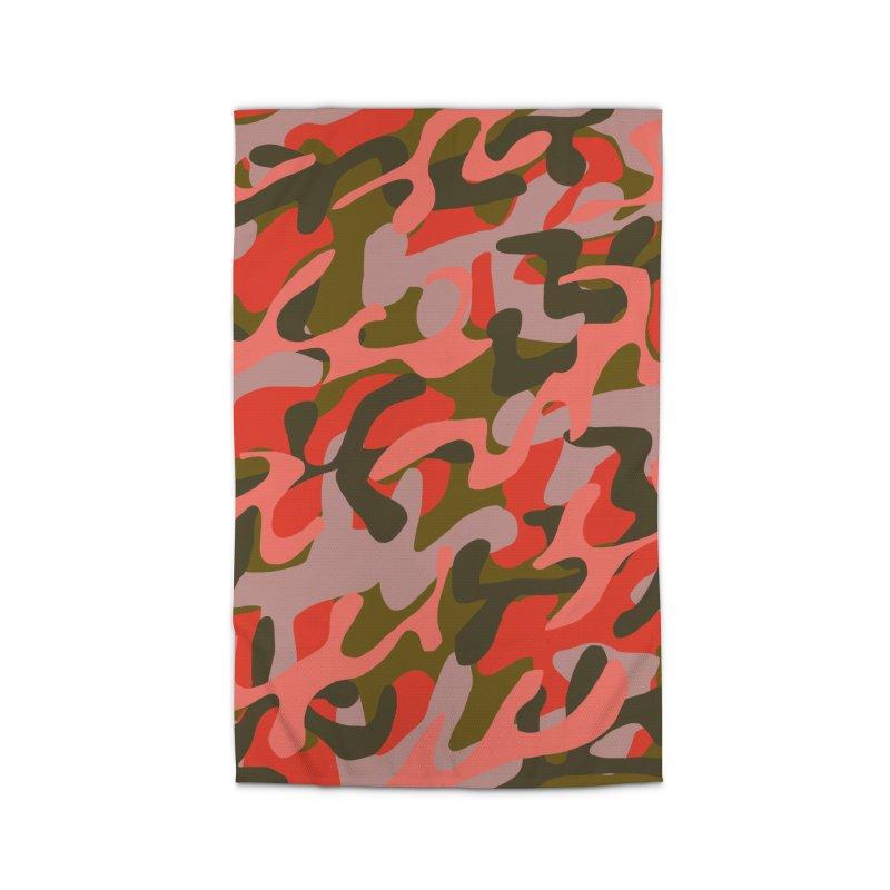 Coral Camouflage 2 Home Rug by Michael Pfleghaar