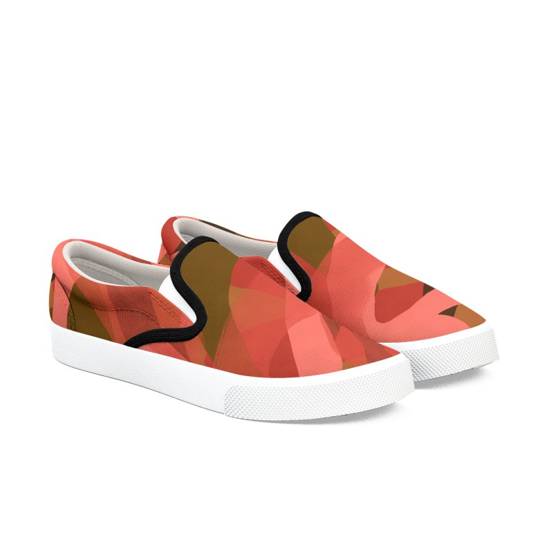 Coral Camouflage 3 in Men's Slip-On Shoes by Michael Pfleghaar