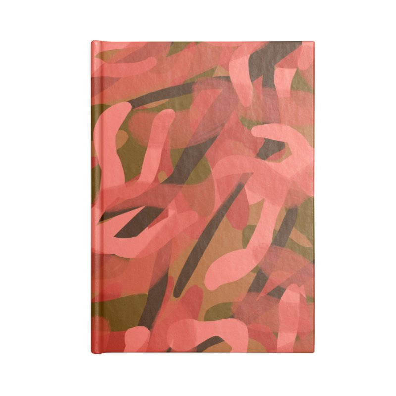 Coral Camouflage 3 Accessories Notebook by Michael Pfleghaar