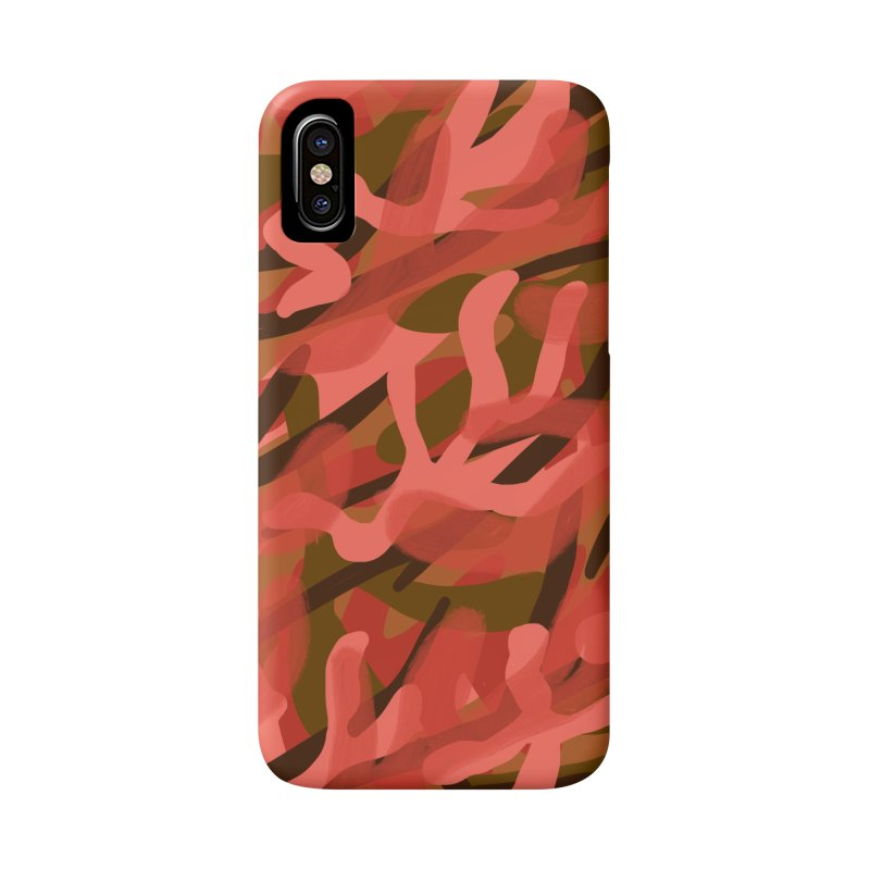 Coral Camouflage 3 Accessories Phone Case by Michael Pfleghaar