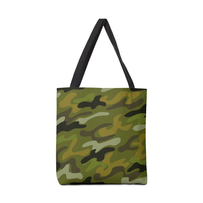 Camouflauge 1 Accessories Tote Bag Bag by Michael Pfleghaar