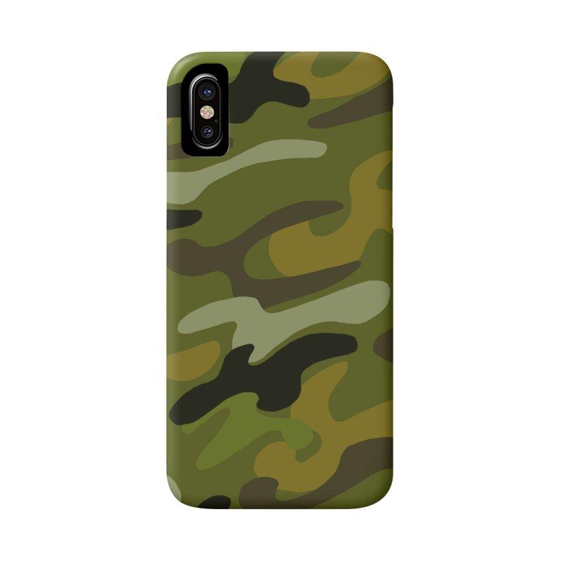 Camouflauge 1 Accessories Phone Case by Michael Pfleghaar