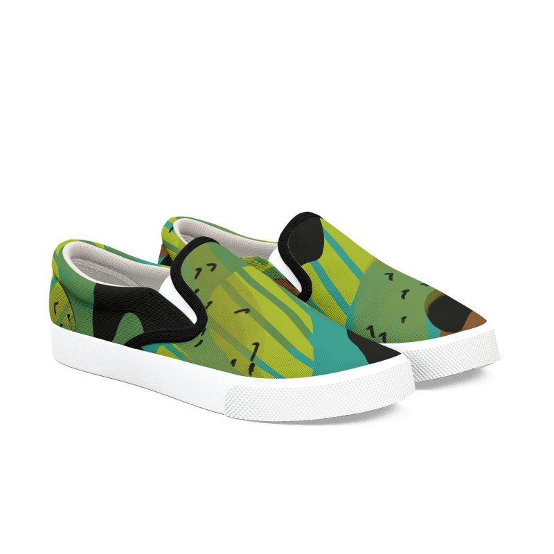 Camouflage 2 in Men's Slip-On Shoes by Michael Pfleghaar