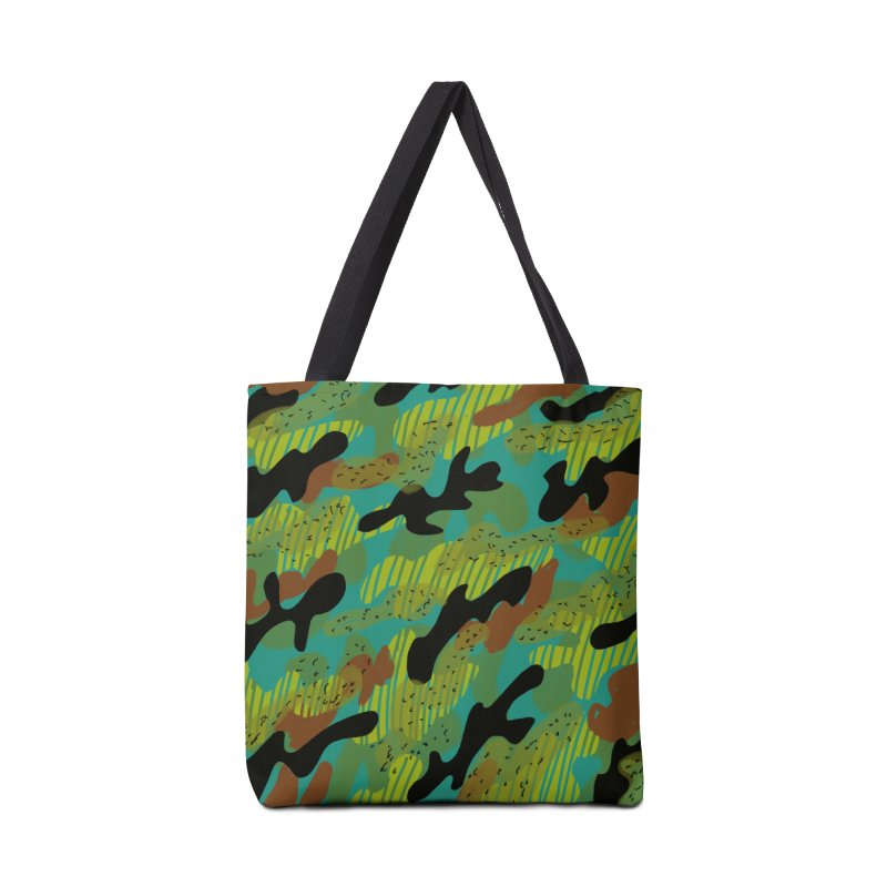 Camouflage 2 Accessories Bag by Michael Pfleghaar
