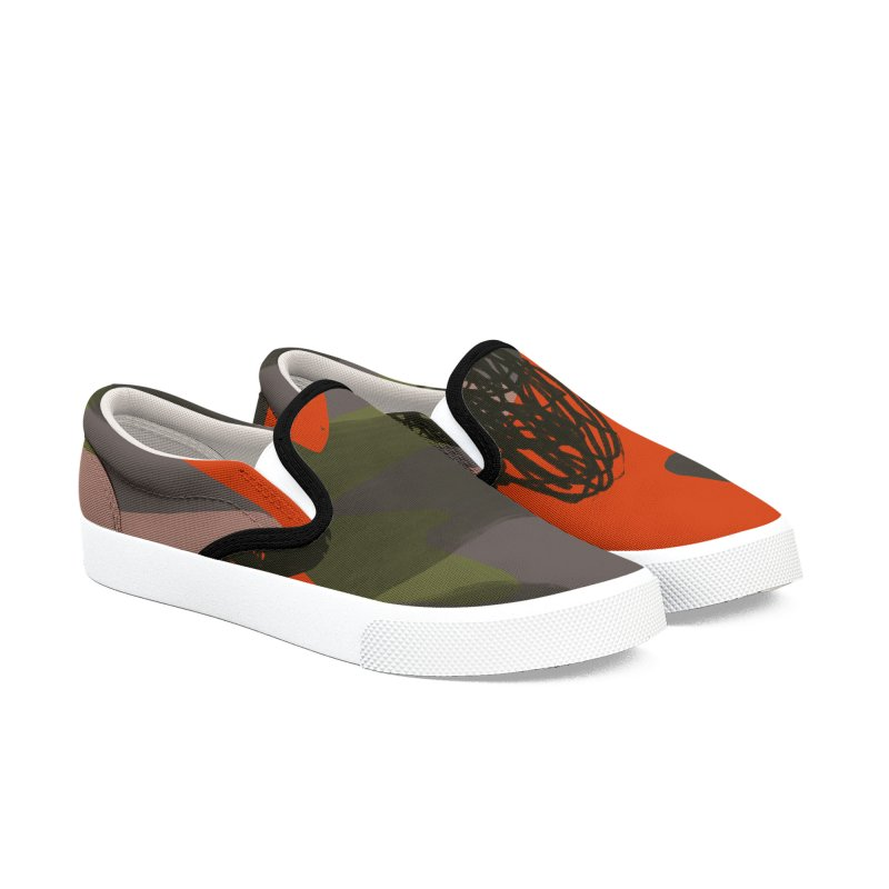 Camouflage 3 in Men's Slip-On Shoes by Michael Pfleghaar
