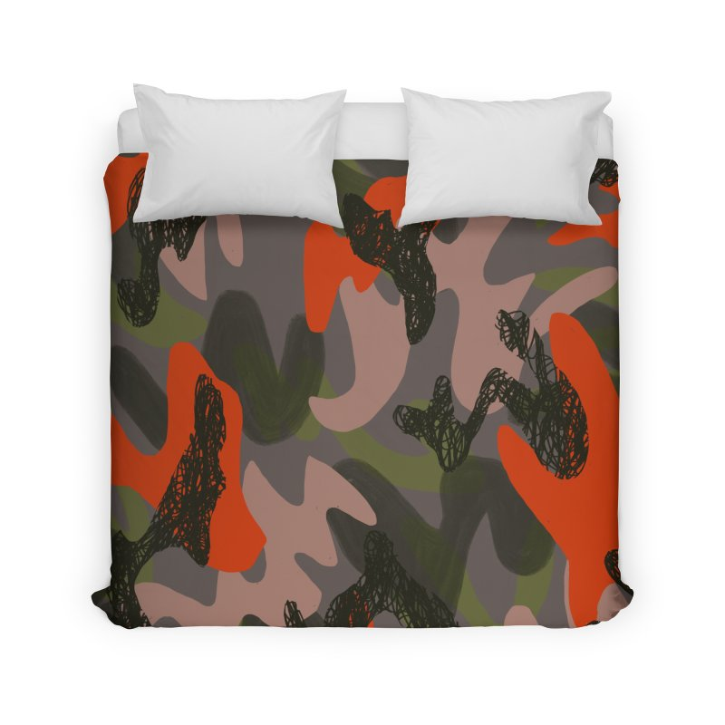 Camouflage 3 in Duvet by Michael Pfleghaar