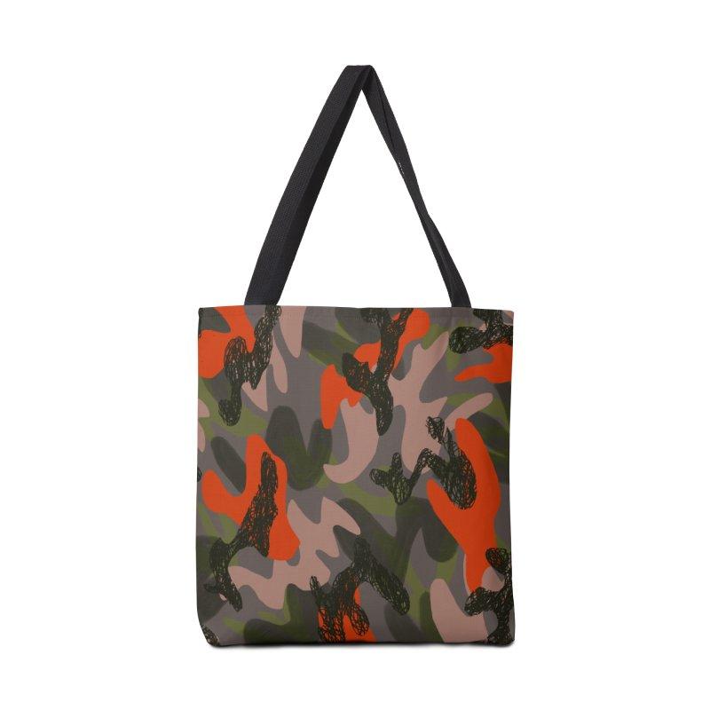 Camouflage 3 Accessories Tote Bag Bag by Michael Pfleghaar