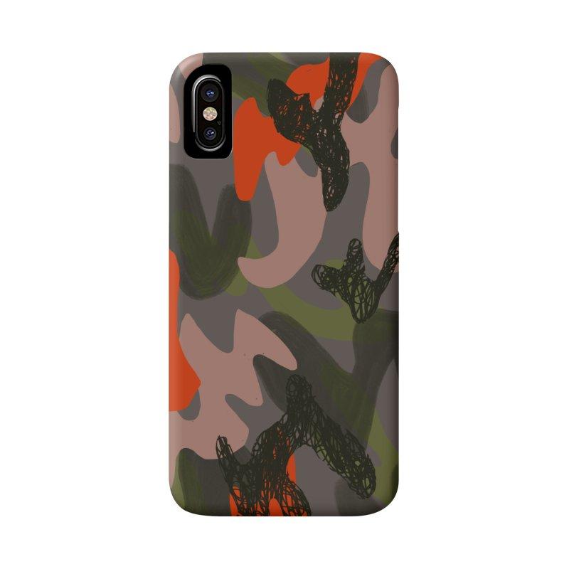 Camouflage 3 Accessories Phone Case by Michael Pfleghaar