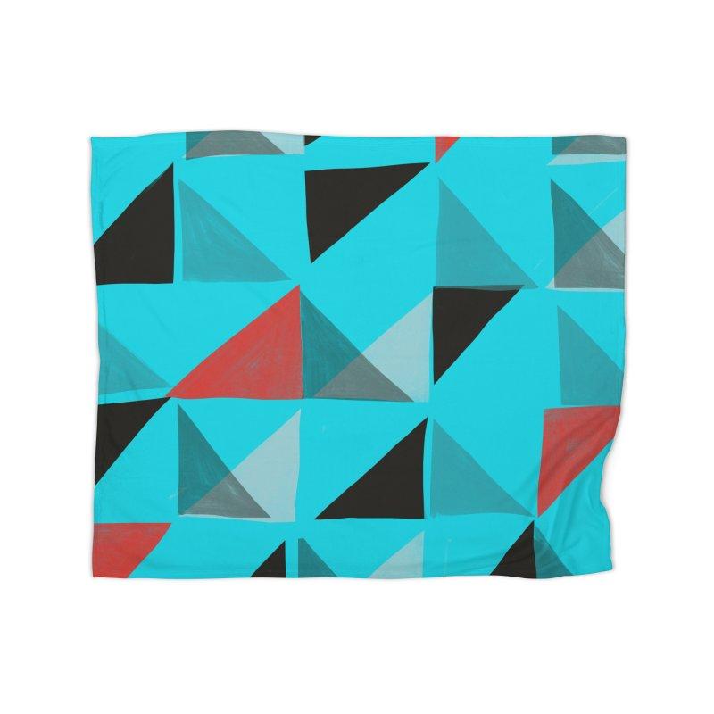 Flags 1 Home Fleece Blanket Blanket by Michael Pfleghaar