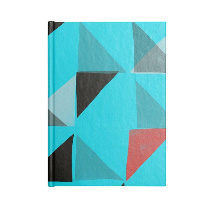 Flags 1 Accessories Blank Journal Notebook by Michael Pfleghaar