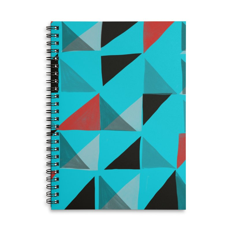 Flags 1 Accessories Lined Spiral Notebook by Michael Pfleghaar