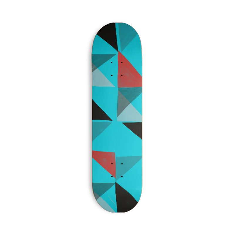 Flags 1 in Deck Only Skateboard by Michael Pfleghaar