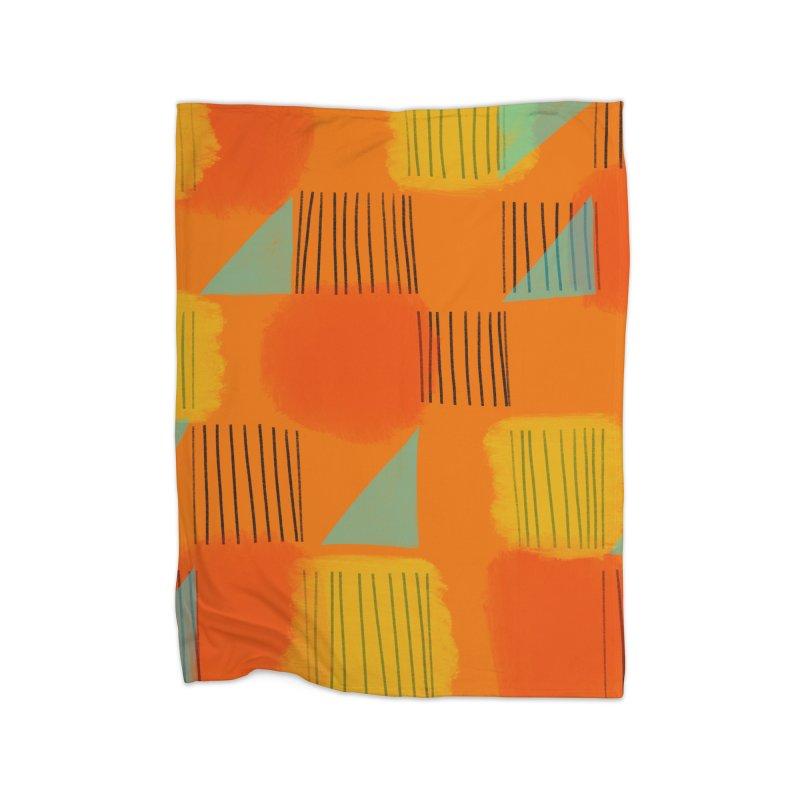 Flags 2 Home Fleece Blanket Blanket by Michael Pfleghaar