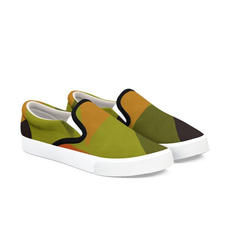 Flags 3 Men's Slip-On Shoes by Michael Pfleghaar