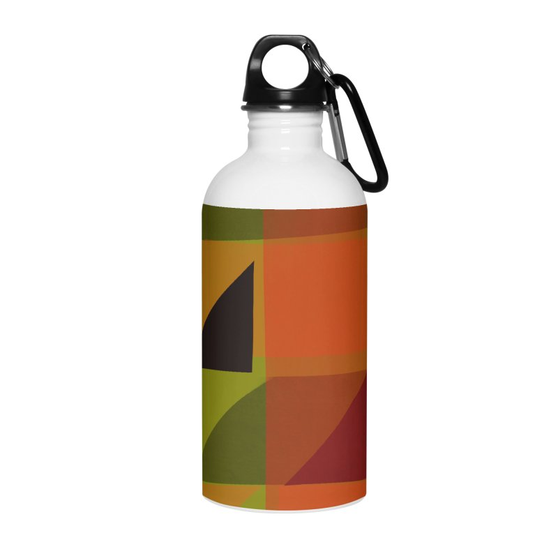 Flags 3 Accessories Water Bottle by Michael Pfleghaar