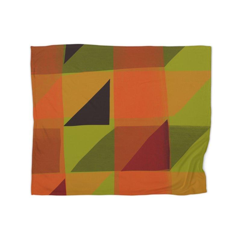 Flags 3 Home Fleece Blanket Blanket by Michael Pfleghaar