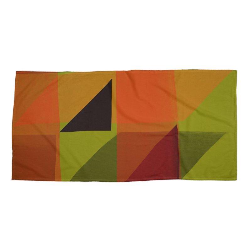 Flags 3 Accessories Beach Towel by Michael Pfleghaar