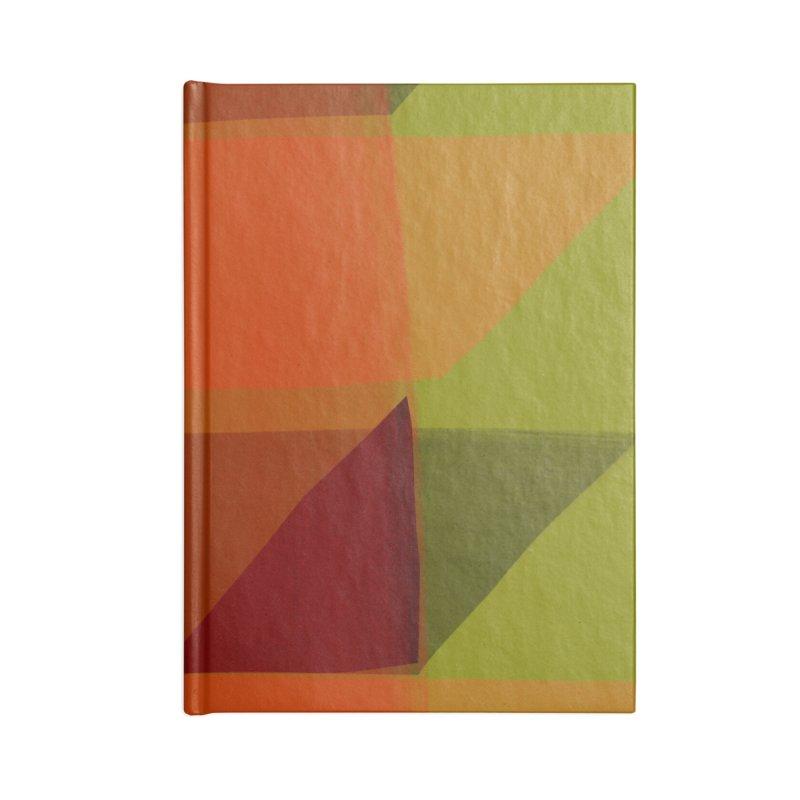 Flags 3 Accessories Blank Journal Notebook by Michael Pfleghaar