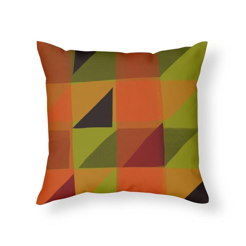 Flags 3 Home Throw Pillow by Michael Pfleghaar