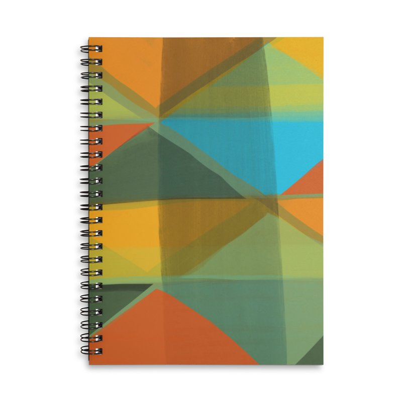 Harlequin 1 Accessories Lined Spiral Notebook by Michael Pfleghaar
