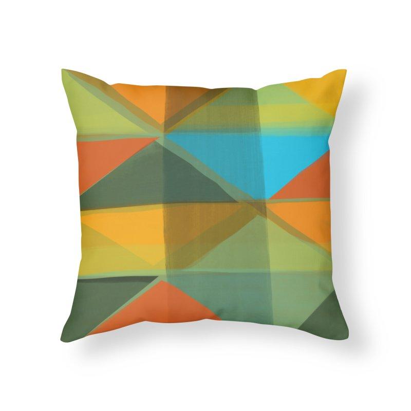 Harlequin 1 Home Throw Pillow by Michael Pfleghaar