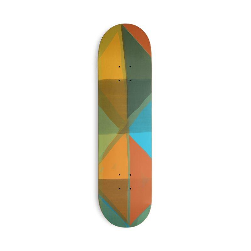 Harlequin 1 in Deck Only Skateboard by Michael Pfleghaar