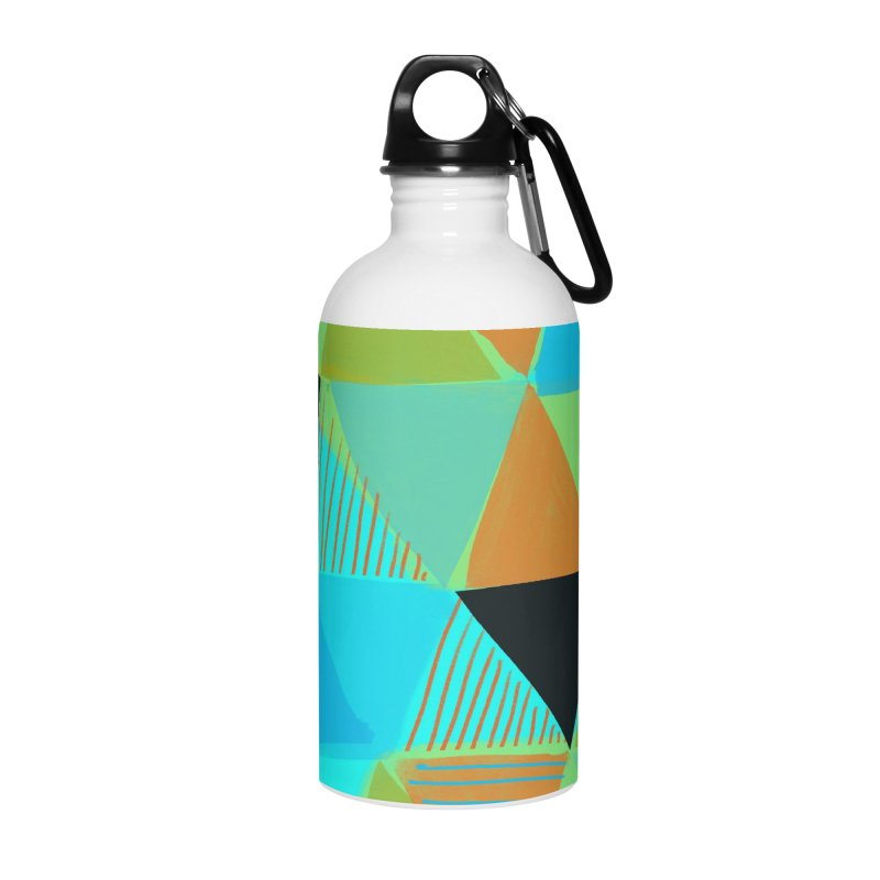 Harlequin 2 Accessories Water Bottle by Michael Pfleghaar
