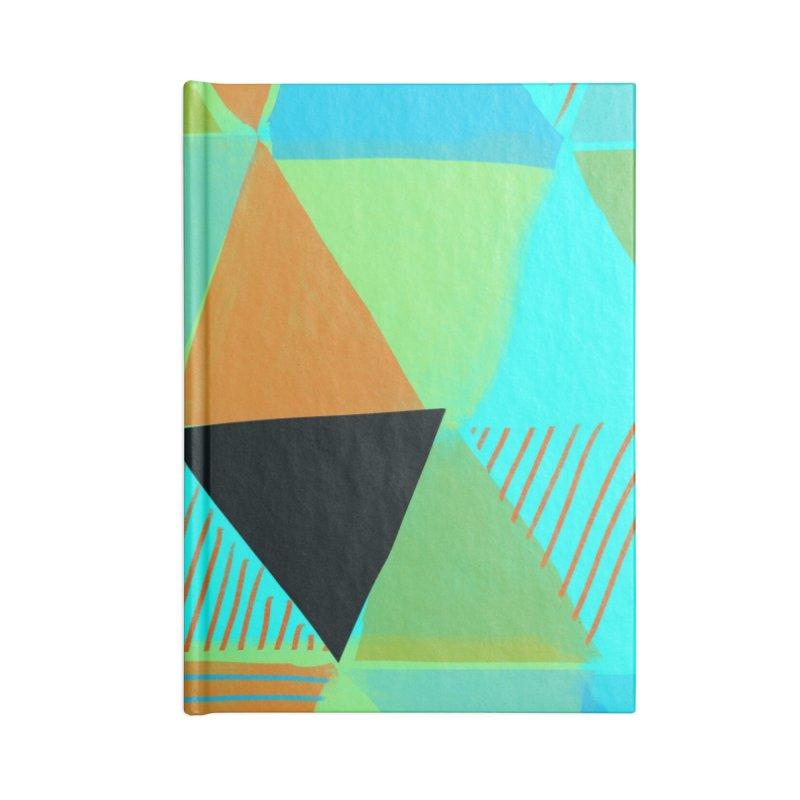 Harlequin 2 Accessories Blank Journal Notebook by Michael Pfleghaar