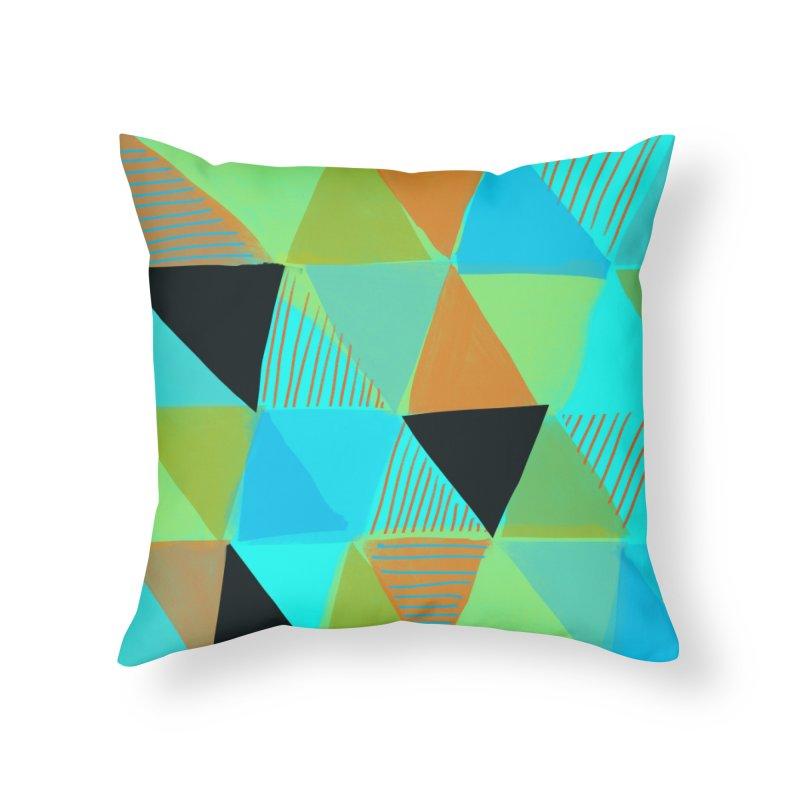 Harlequin 2 Home Throw Pillow by Michael Pfleghaar