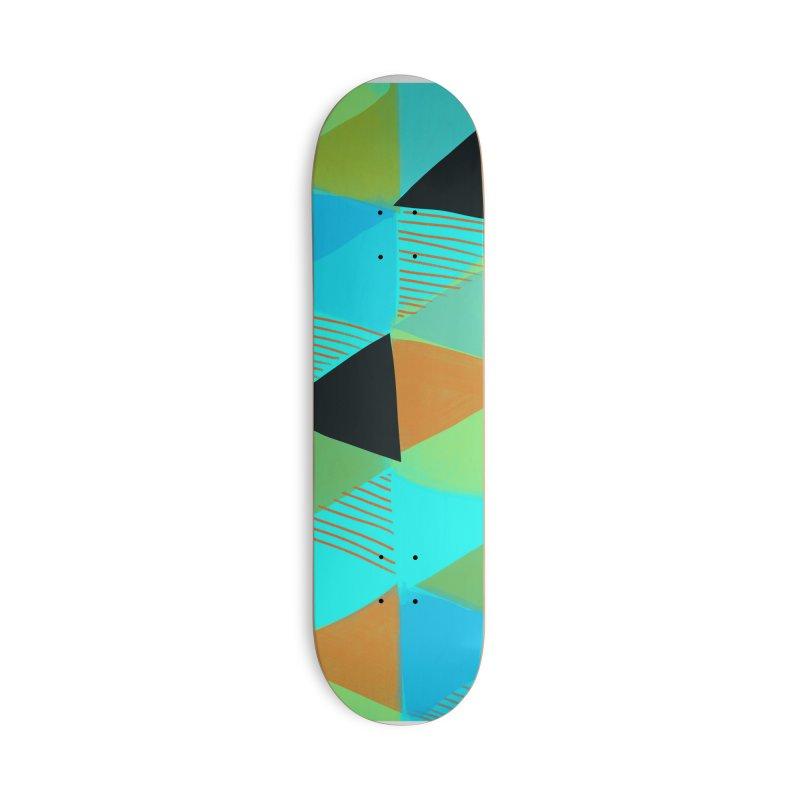 Harlequin 2 in Deck Only Skateboard by Michael Pfleghaar
