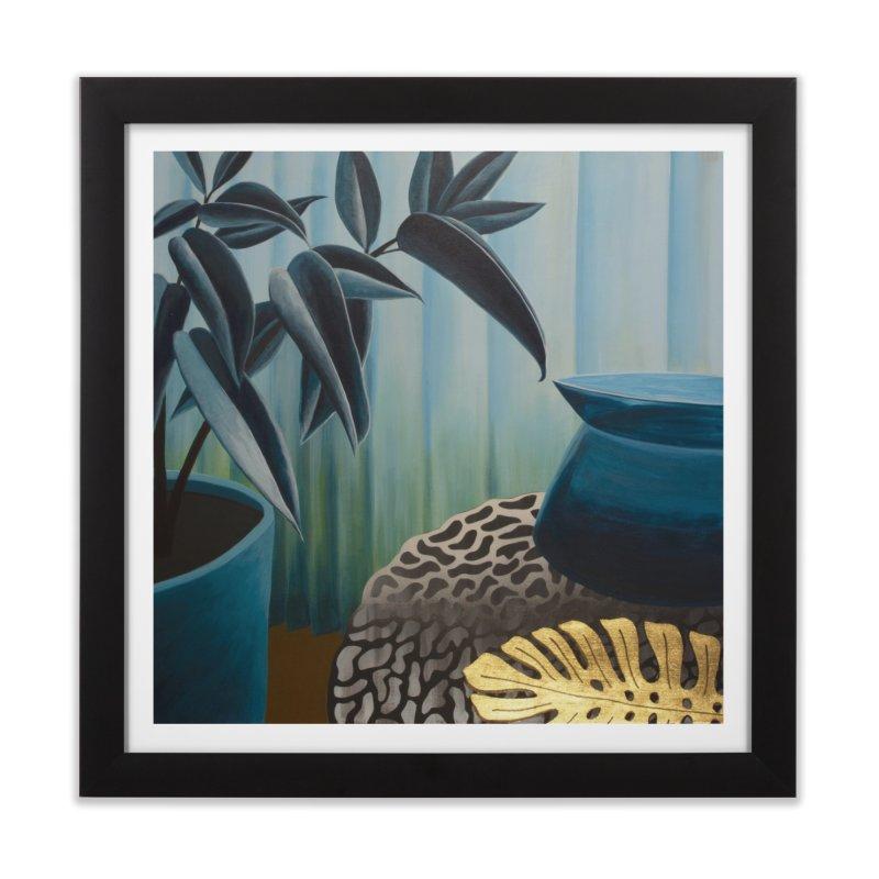 Solid Sheer Shine in Framed Fine Art Print Black by Michael Pfleghaar