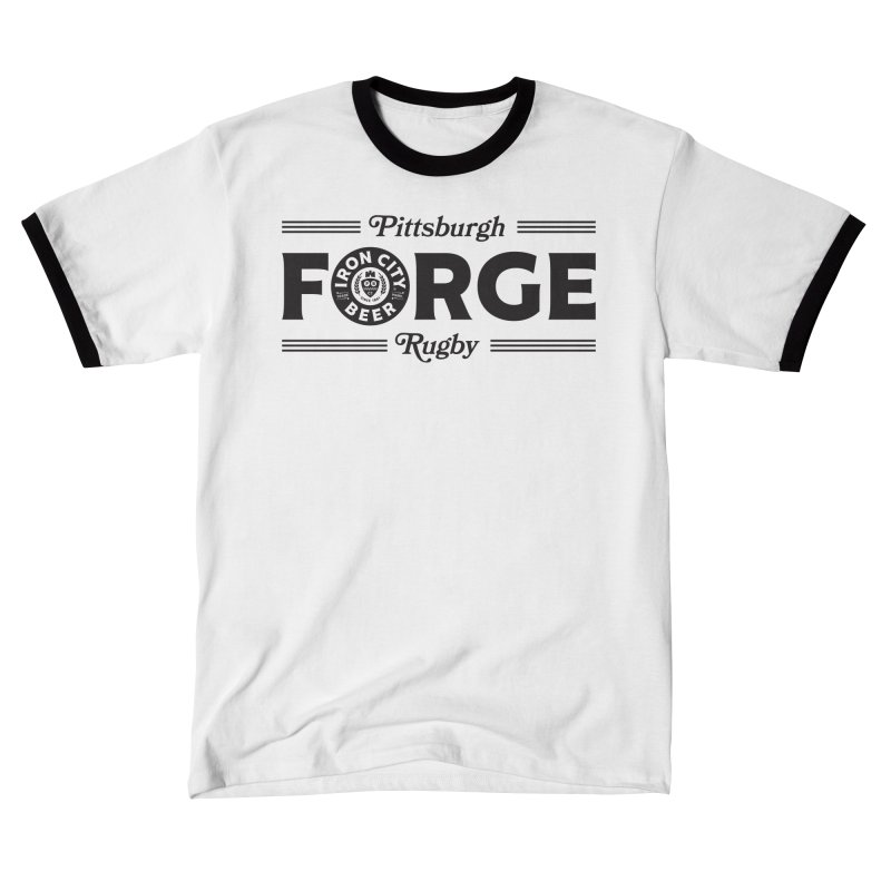 Forged With Iron - Black Logo Women's T-Shirt by Forge Foundry