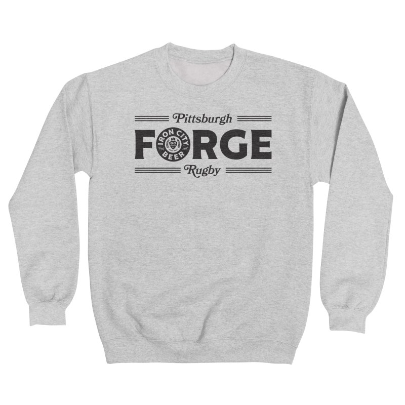 Forged With Iron - Black Logo Women's Sweatshirt by Forge Foundry