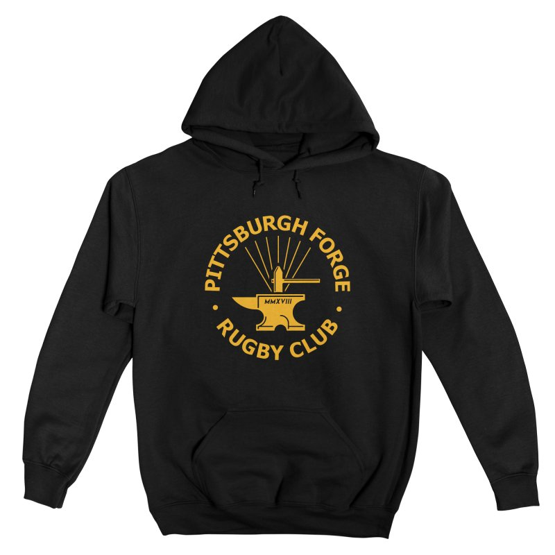 Forge Anvil - Gold Logo Women's Pullover Hoody by Forge Foundry