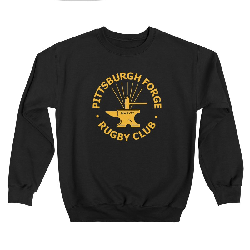 Forge Anvil - Gold Logo Men's Sweatshirt by Forge Foundry