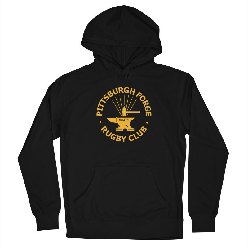 Forge Anvil - Gold Logo Men's Pullover Hoody by Forge Foundry