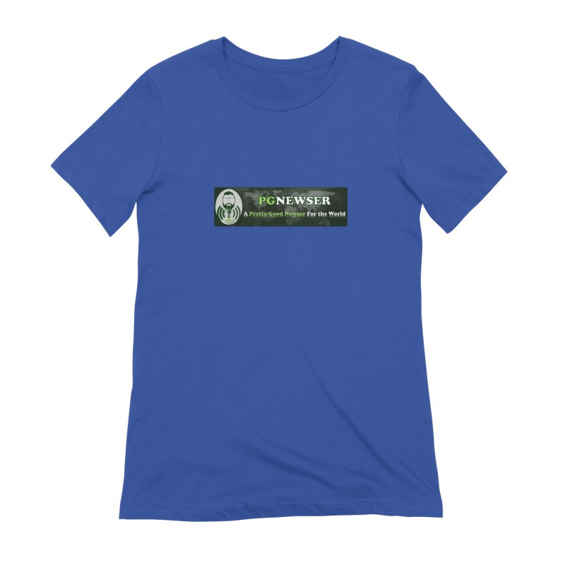 PG Newser Label Women's Extra Soft T-Shirt by PGMercher  - A Pretty Good Merch Shop
