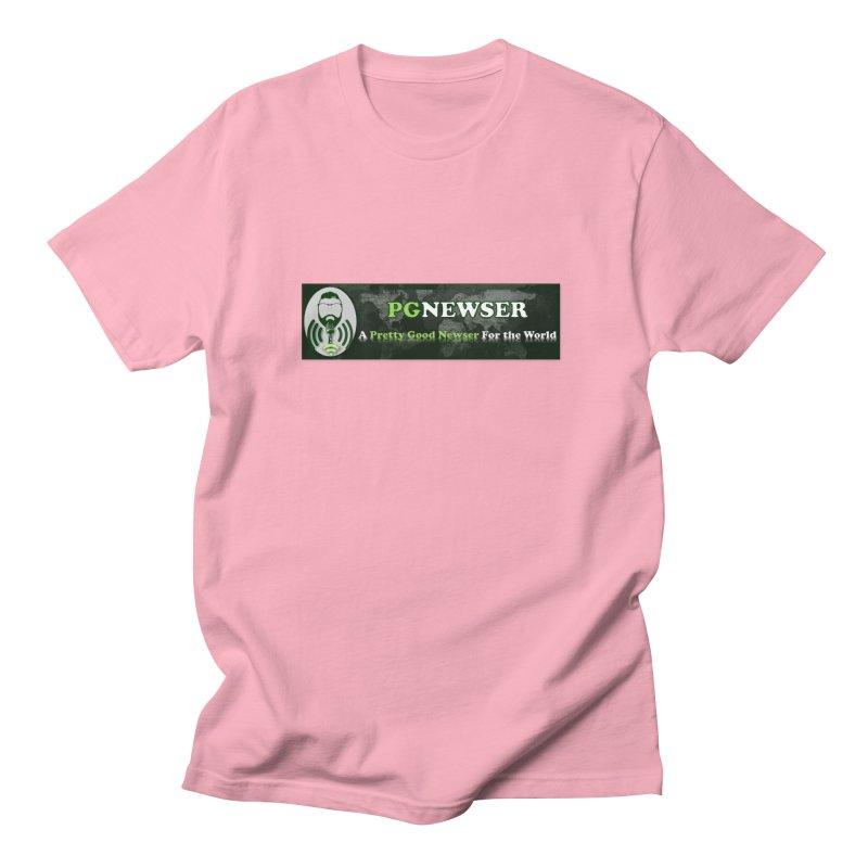 PG Newser Label Men's T-Shirt by PGMercher  - A Pretty Good Merch Shop