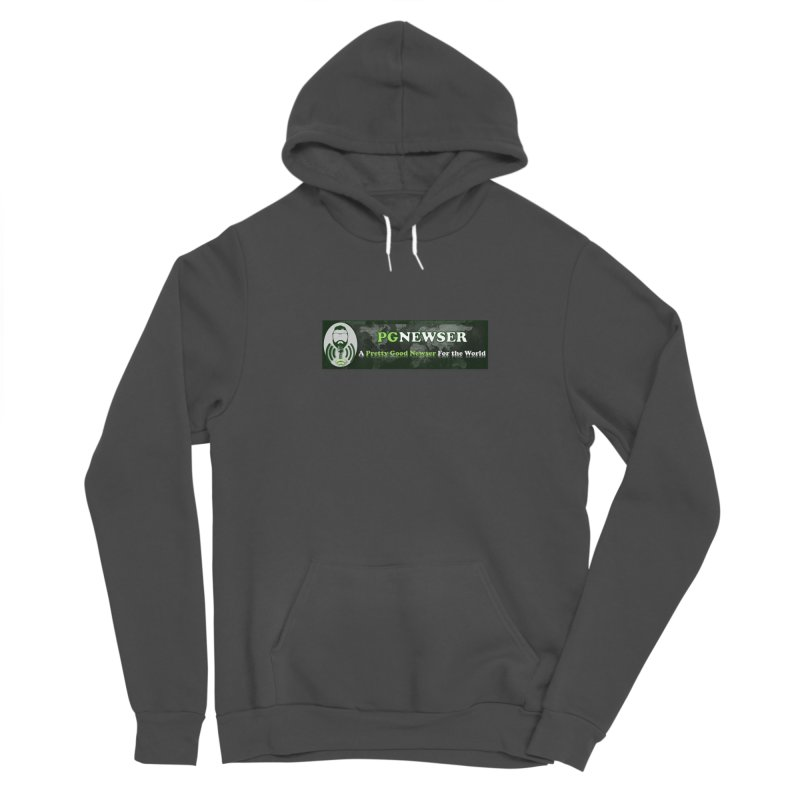 PG Newser Label Women's Pullover Hoody by PGMercher  - A Pretty Good Merch Shop