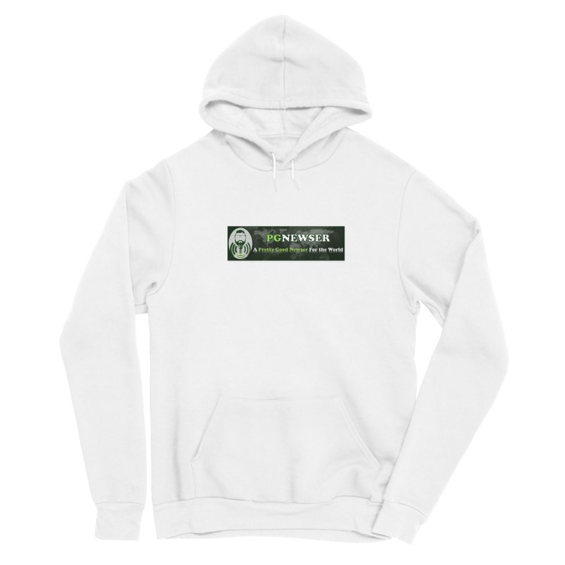PG Newser Label Men's Pullover Hoody by PGMercher  - A Pretty Good Merch Shop