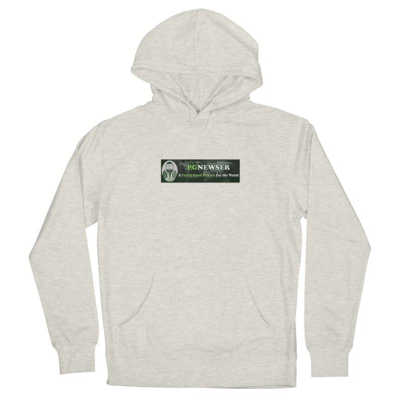 PG Newser Label Men's Pullover Hoody by PGMercher  - A Pretty Good Merch Shop
