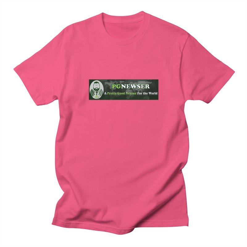 PG Newser Label Women's Regular Unisex T-Shirt by PGMercher  - A Pretty Good Merch Shop
