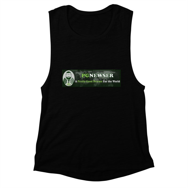 PG Newser Label Women's Tank by PGMercher  - A Pretty Good Merch Shop
