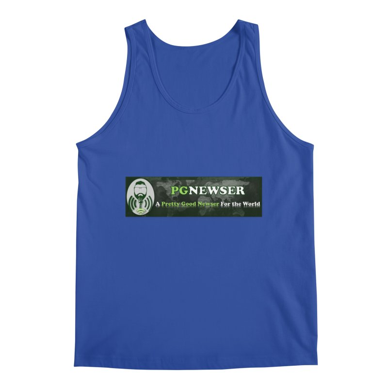 PG Newser Label Men's Tank by PGMercher  - A Pretty Good Merch Shop